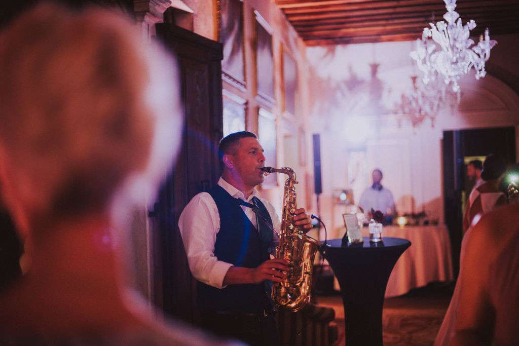 Venice wedding saxophone