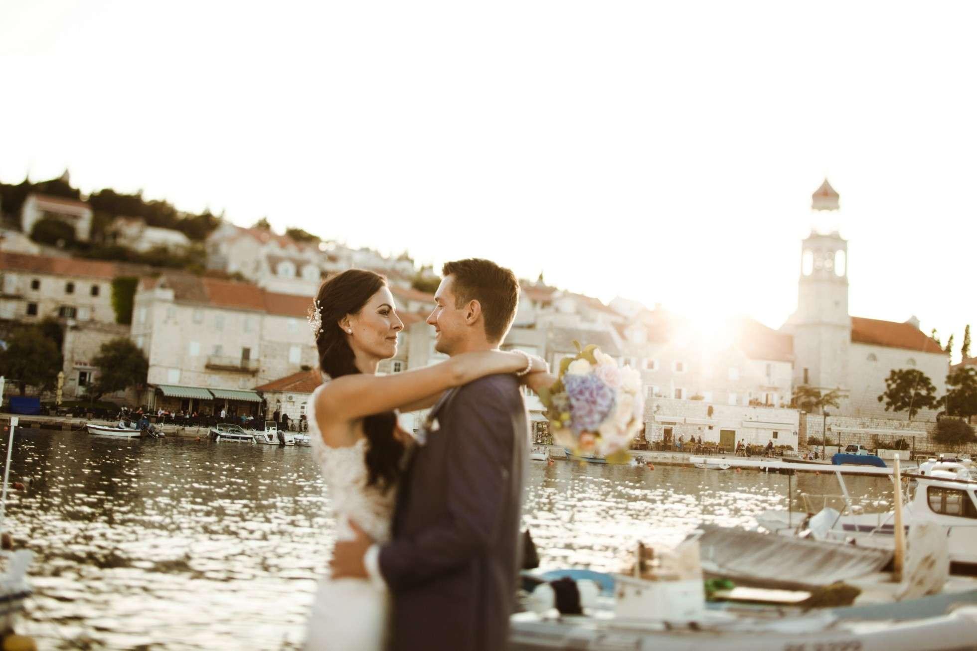 bridal couple; brautpaar; hochzeit brac; wedding on brac; wedding planner brac; wedding planner croatia; hochzeitsplaner brac; hochzeitsplaner kroatien