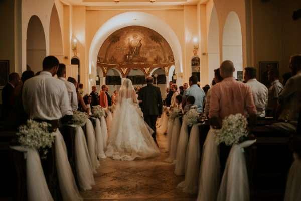 Opatija church wedding