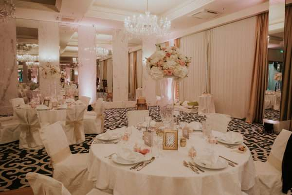 Opatija wedding tables