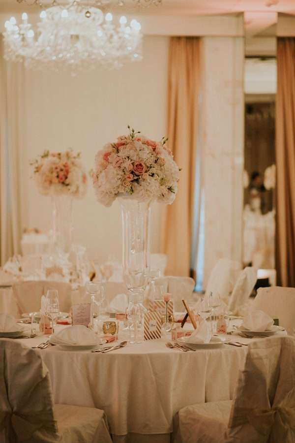 Opatija wedding table decoration