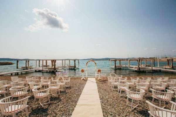 summer wedding croatia; sommer hochzeit kroatien; beach wedding; hochzeit am strand;