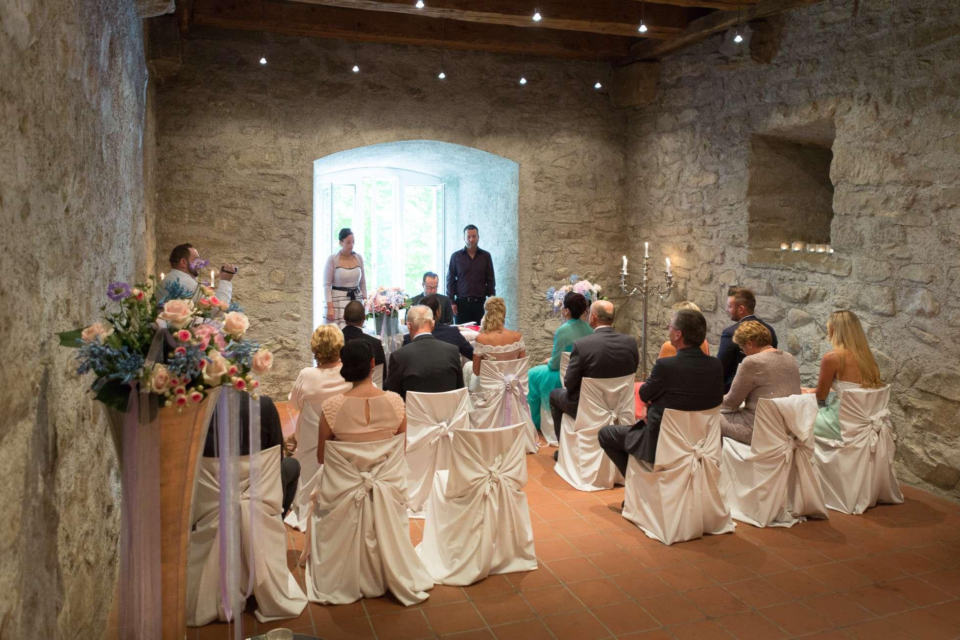 Wedding on lake constance