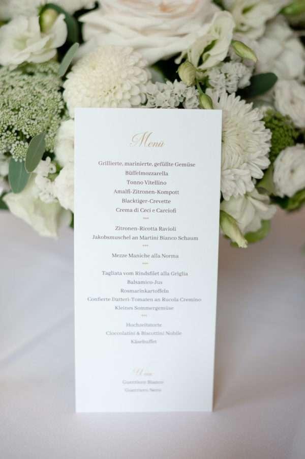 Schweizer Hochzeitsempfang
